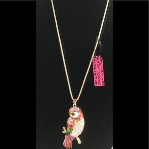 🤩Betsey Johnson Owl necklace 🦉